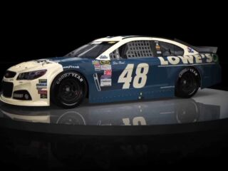 Retro rides galore for Hendrick Motorsports in Southern 500