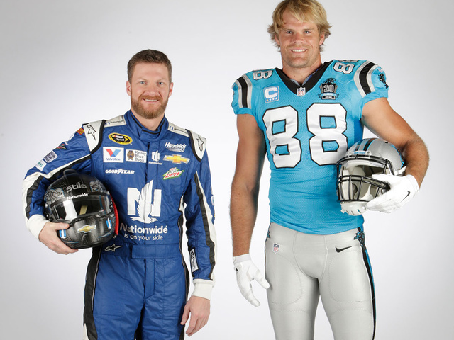 Earnhardt, Panthers' Olsen team up for 'Weekend with the 88s'