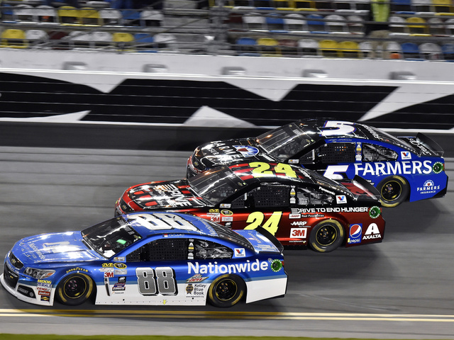 Package that earned one-two-three start for Daytona 500 returns to the track this weekend