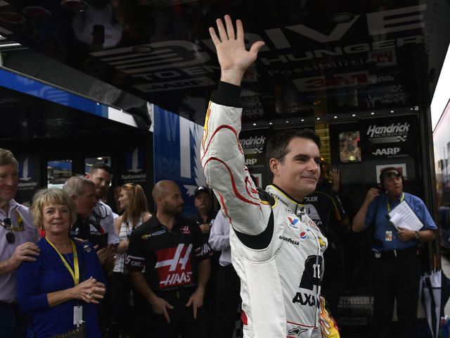 A Day in the Life: Jeff Gordon's last ride