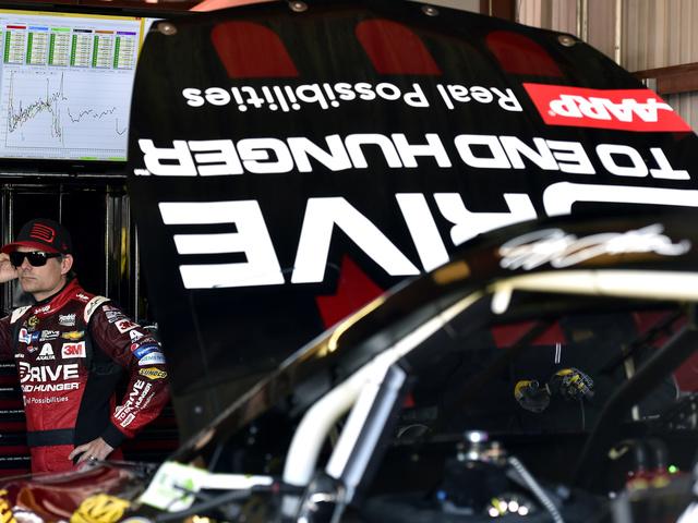 Shots of the race: Gordon at Richmond