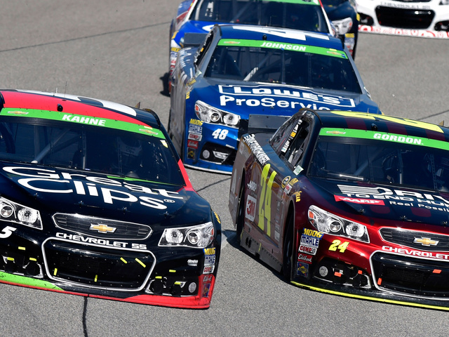 From 40th to top-10, Kahne's 'best race of the year'