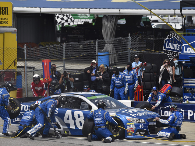 Shots of the Race: Johnson at Richmond
