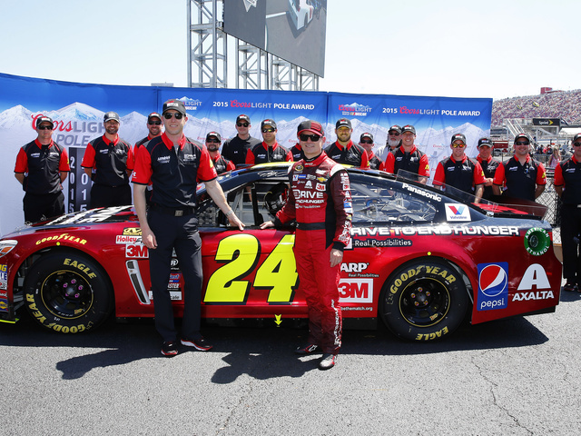 Four top-five starts for Hendrick Motorsports, including front-row sweep at Talladega