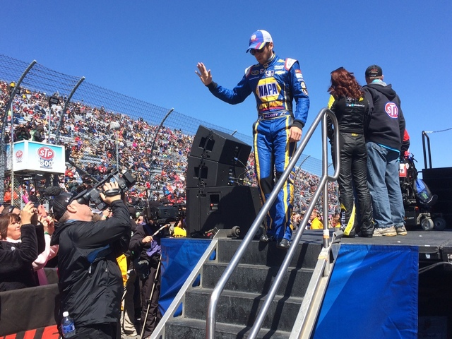 A Day in the Life: Chase Elliott's debut
