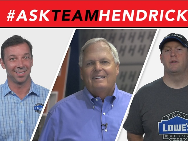 #AskTeamHendrick: Casting a Hendrick Motorsports movie