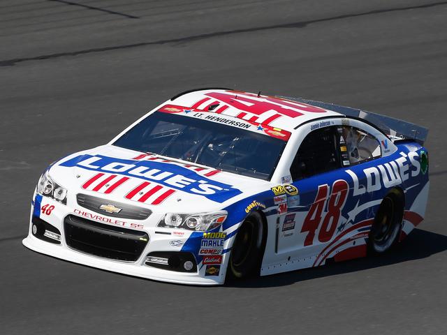 Johnson leads five Hendrick Motorsports cars in Charlotte qualifying