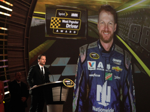 Earnhardt voted Most Popular Driver for 14th consecutive year