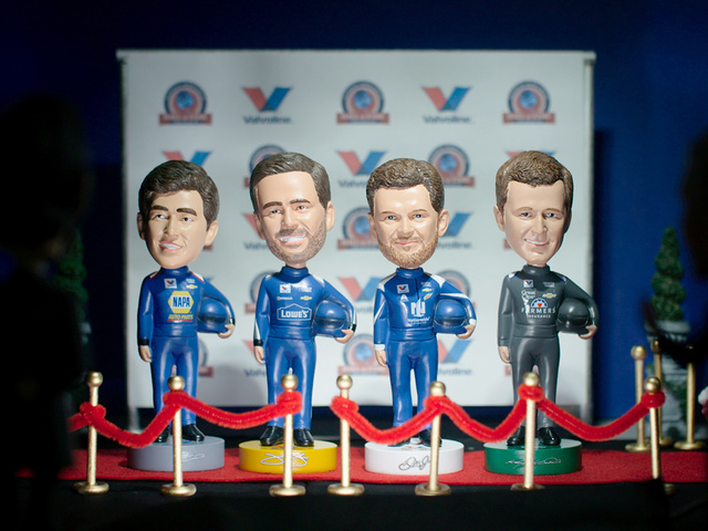 Pit Pals head to National Bobblehead Hall of Fame