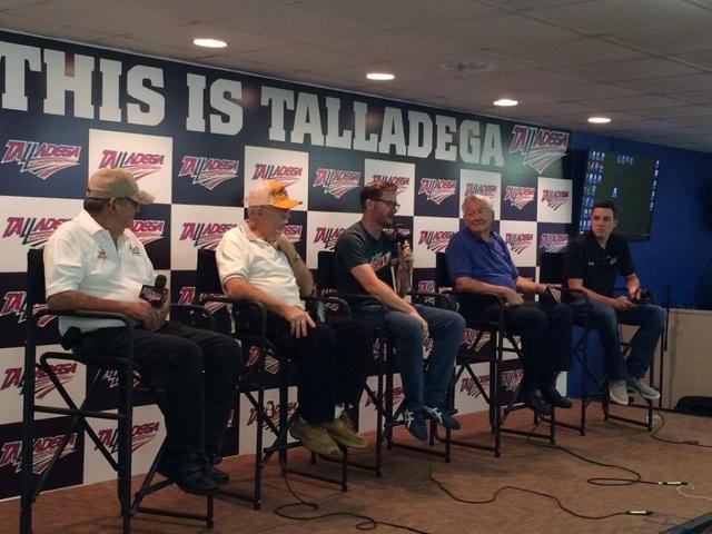 Behind the Scenes: Earnhardt, Bowman visit Talladega