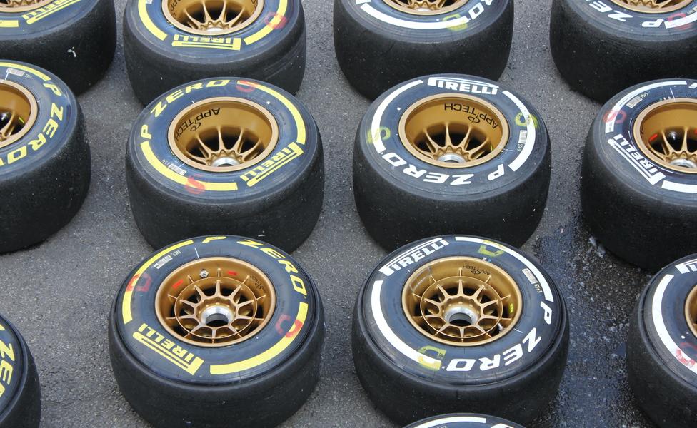 F1 2015 pneu 4