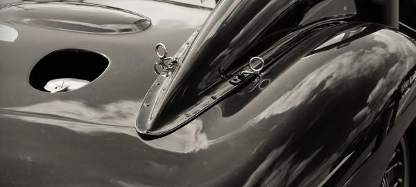 Auto vintage galbe