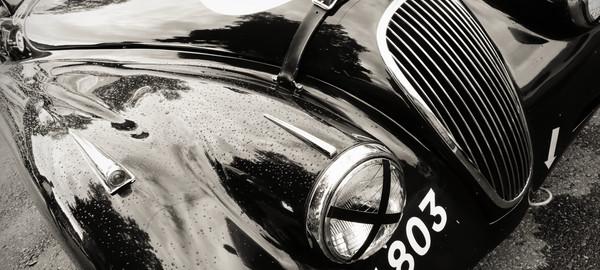 Auto vintage jaguar