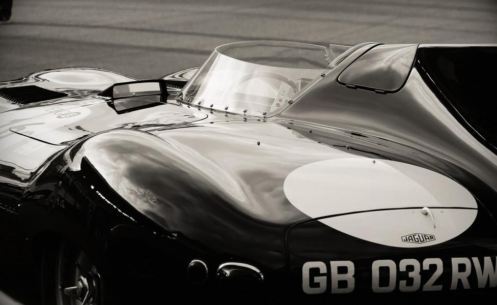 Auto vintage jaguar arri%c3%a8re