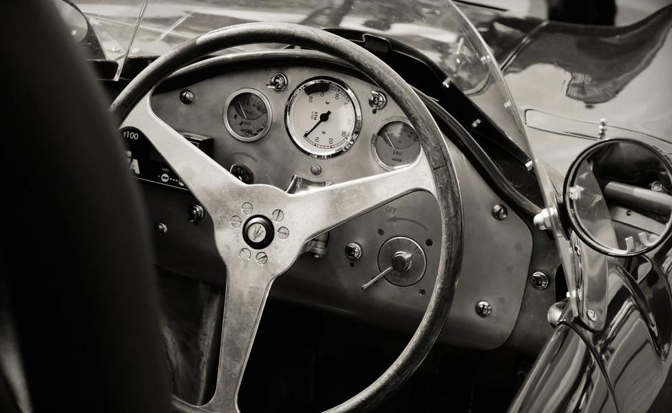 Auto vintage maserati