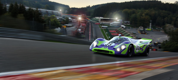 Porsche 917 raidillon spa