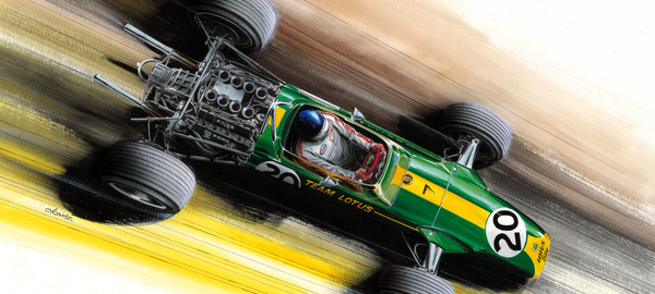 Jim clark   lotus 49