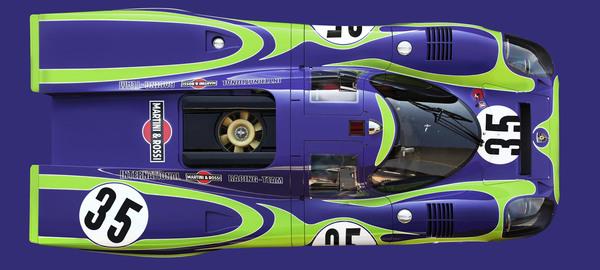 917 021 purple green