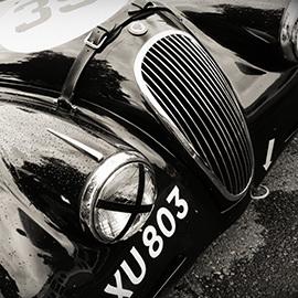 Auto vintage jaguar 2