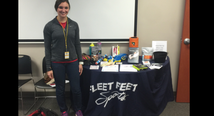 Health fair connections fleet feet sports mt pleasant for Summerville gyms