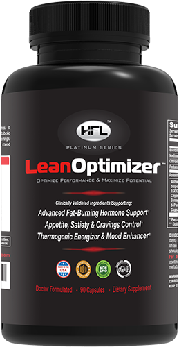 "Lean Optimizer Bottle - ""Proven Fat Loss"""