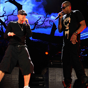 Eminem and jay z make concert history at yankee stadium hiphopdx eminem and jay z make concert history at yankee stadium malvernweather Images