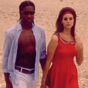 Asap Rocky And Lana Del Rey