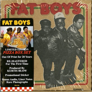 The Fat Boys Debut Album To Be Reissued In Pizza Box Packaging