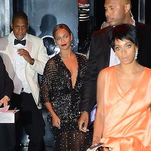 Jay Z, Solange Alterca...