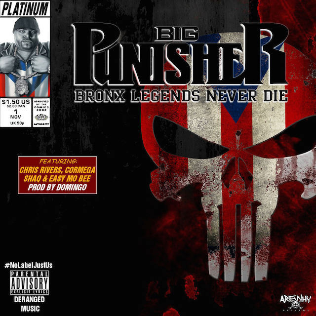 "Big Punisher ""Bronx Legends Never Die"" Release Date, Cover Art & Album Trailer Snippet"