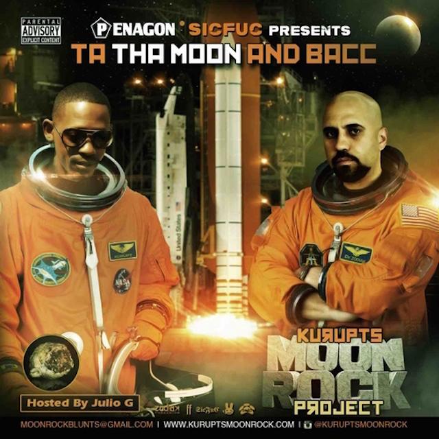 """Kurupt """"Kurupt's Moon Rock"""" Release Date, Cover Art, Tracklist, Download & Mixtape Stream"""