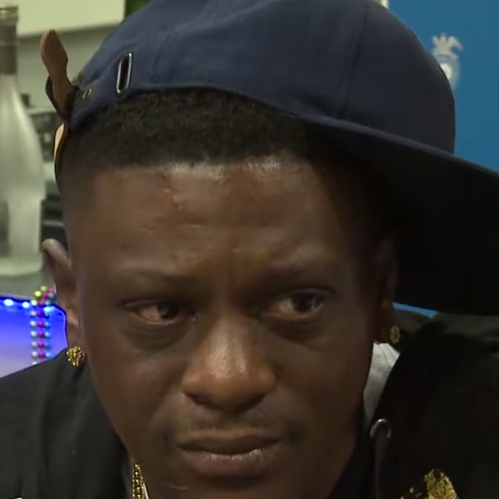 Boosie Badazz Addresses Protesters Chanting