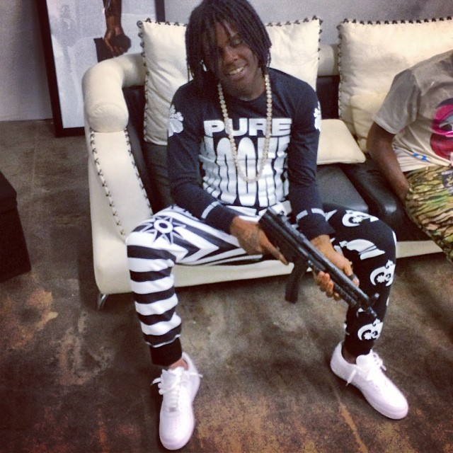 Chief Keef Wearing Shoes