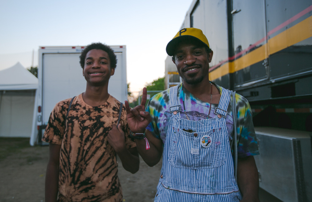 Andre 3000 Evaluates His Son's Lyrical Talent