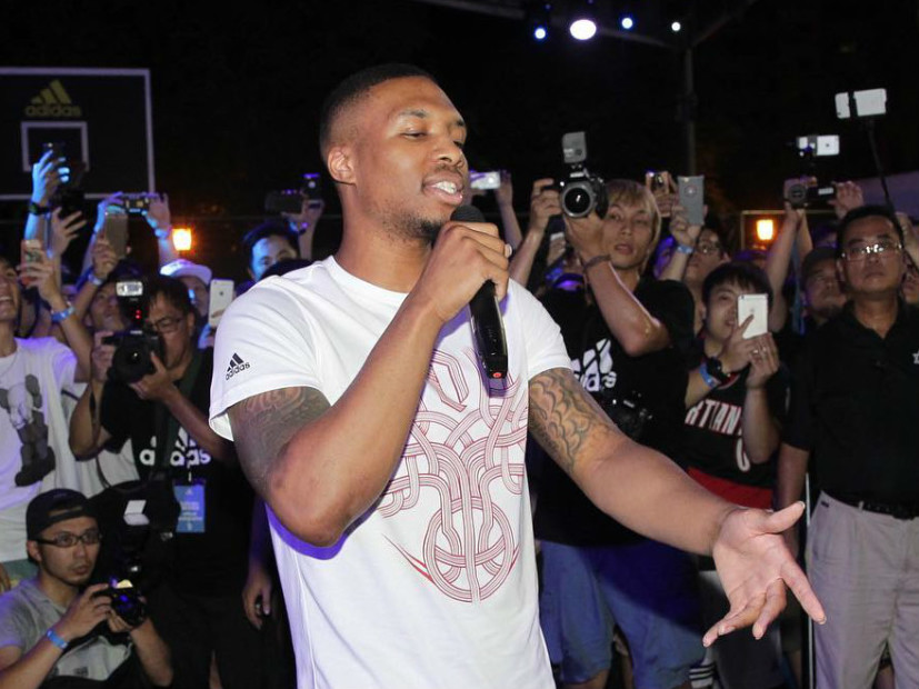 damian lillard sells out rap concert in portland hip hop news newslocker. Black Bedroom Furniture Sets. Home Design Ideas
