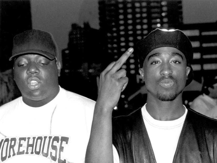 the notorious b i g and tupac Christopher george latore wallace (may 21, 1972 - march 9, 1997), known professionally as the notorious big, biggie smalls, or simply biggie, was an american rapperhe is considered by many as one of the best rappers of all time.