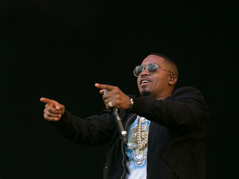 Nas mural goes up in queensbridge hiphopdx for Nas mural queensbridge