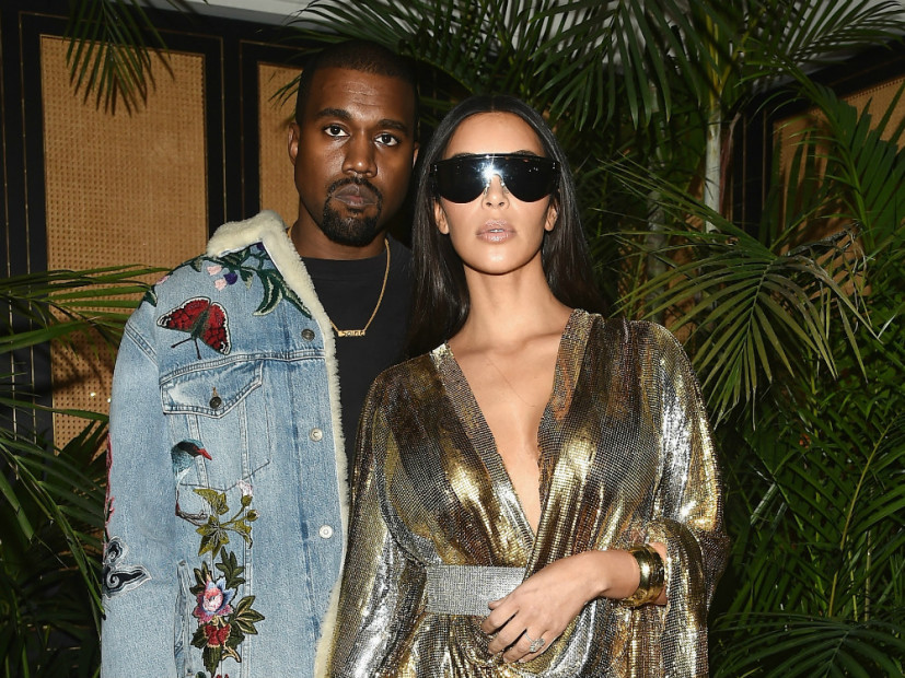 Kanye West & Kim Kardashian Decorate Home With Elaborate Christmas ...