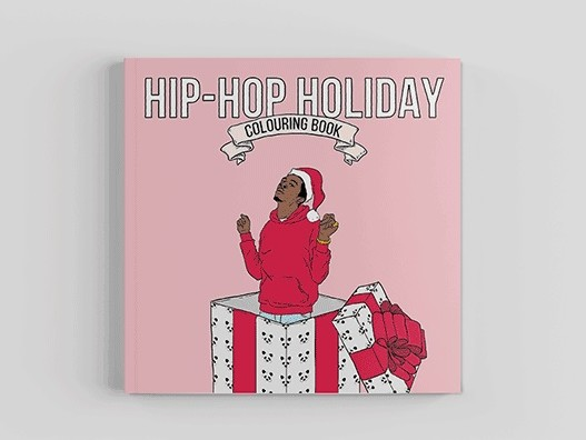 drake kanye west chance the rapper featured in hip hop holiday coloring book