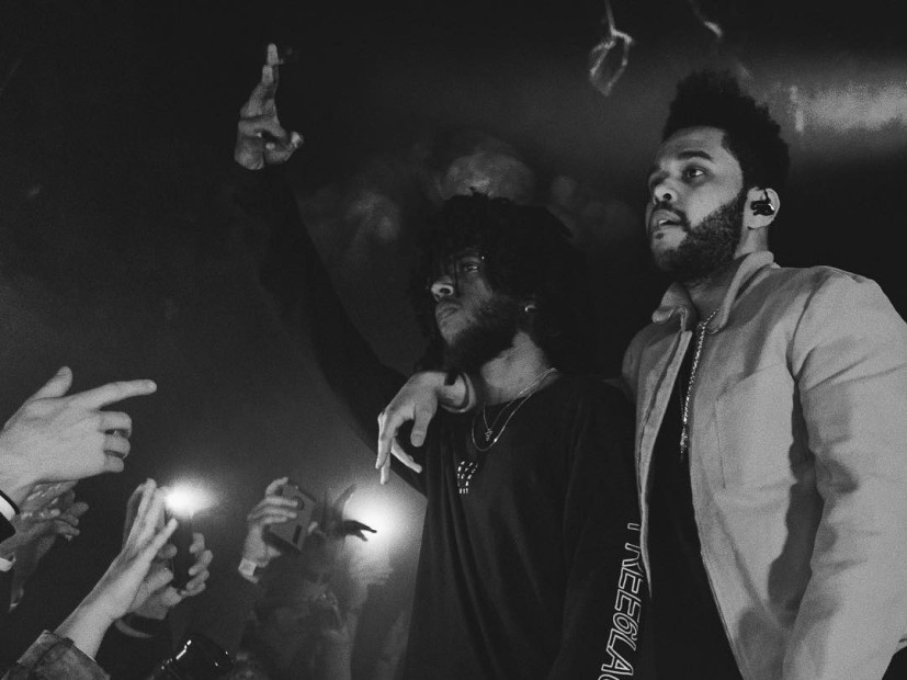 Fomoblog 6lack Brings Out The Weeknd At The Roxy In Los