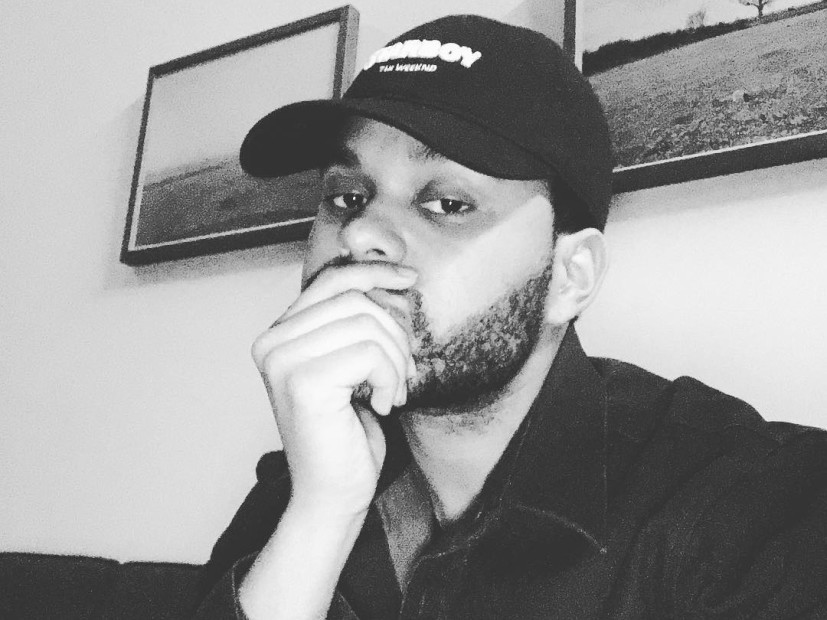 The Weeknd Black And White 2017