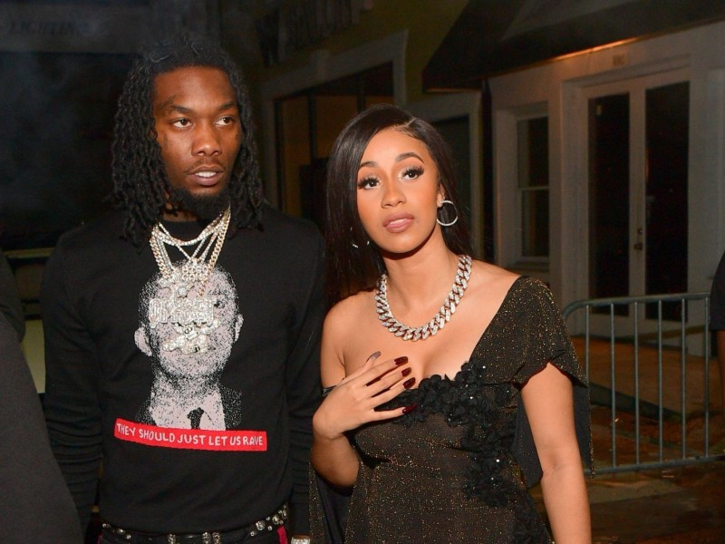 Cardi B Reveals Offset Is Out Of Jail