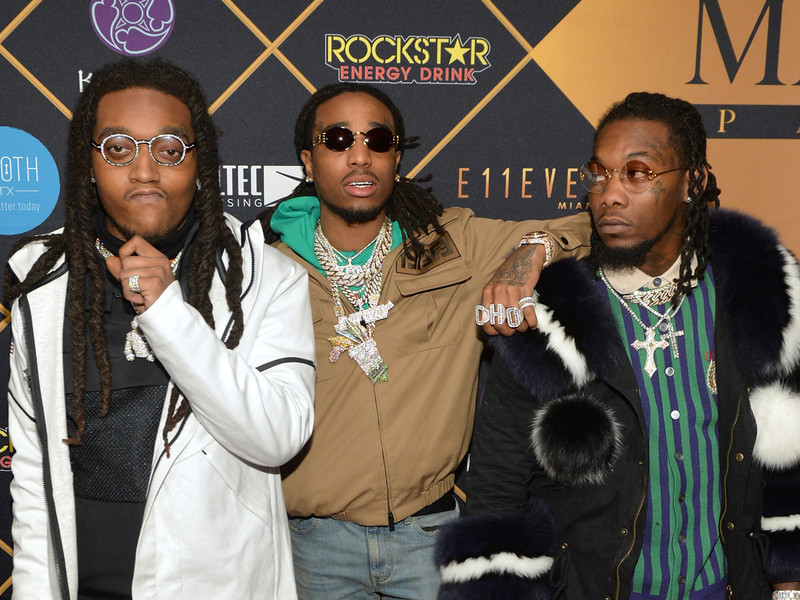 Migos scream snub over culture losing at grammy awards 2018 hiphopdx migos claims grammys cheated them out of best rap album win m4hsunfo