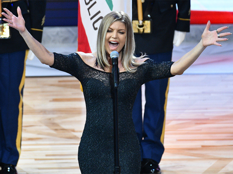 Fergie Apologizes For NBA All-Star Game National Anthem ... Fergie National Anthem Remix