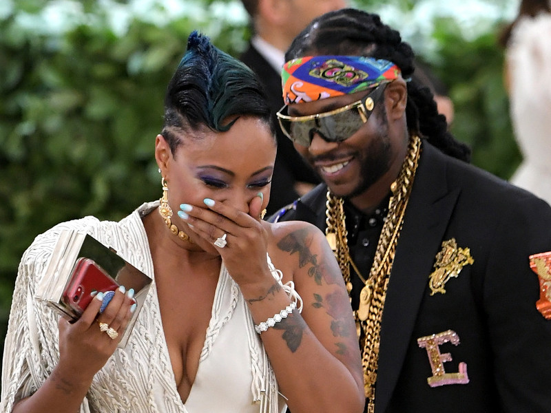 2 chainz proposes to longtime girlfriend at 2018 met gala