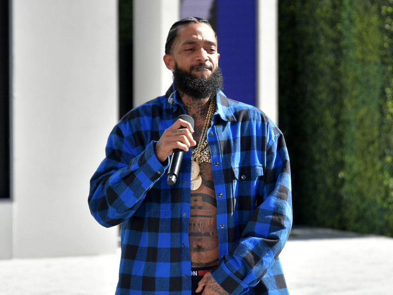 Nipsey Hussle Puts The Smack Down At  Bet Awards