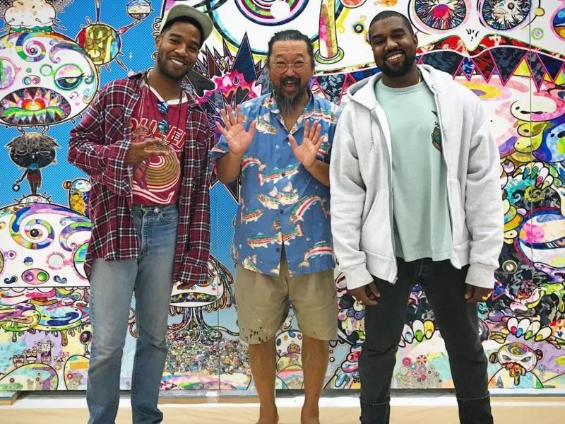 "Kanye West & Kid Cudi's ""Kids See Ghosts"" Stream, Tracklist & Cover Art | HipHopDX"