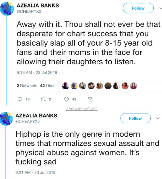 Azealia Banks Outs Twitter Imposter Following Nicki Minaj-Bashing Tweets