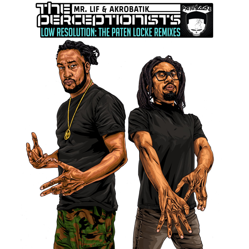 The Perceptionists Low Resolution Artwork