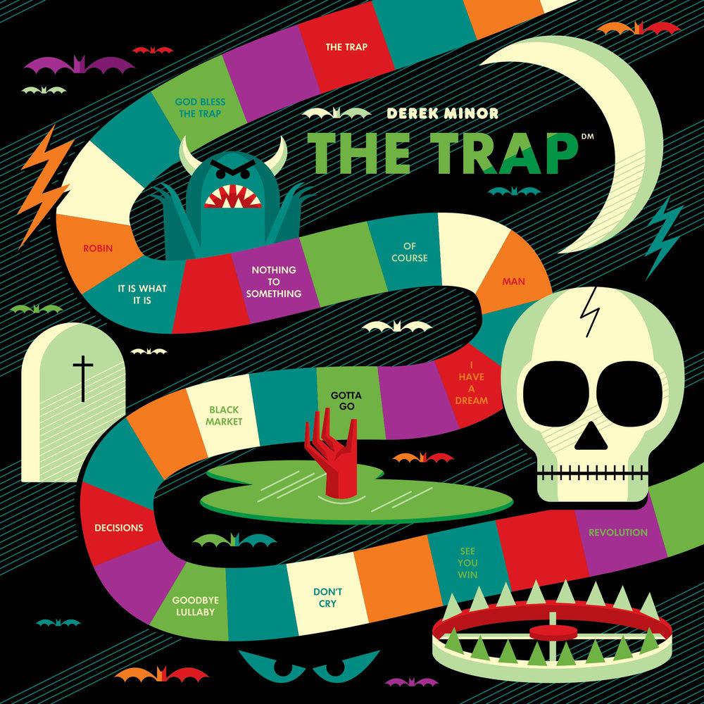 "Derek Minor Releases ""The Trap"" Album"